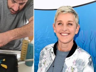 Jimmy Kimmel makes 'Dory' pancakes for daughter — see Ellen's delightful response