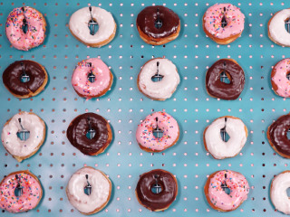 You need a doughnut wall at your party — here's how to make one