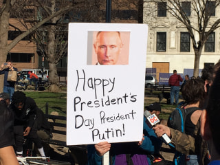 America Gives Trump an Earful at 'Not My President's Day' Rallies