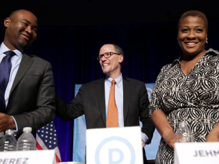 DNC Race: Jaime Harrison Drops Out, Endorses Tom Perez for Chair