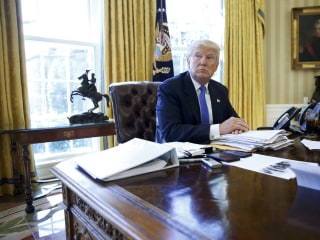 Trump Wants to Make U.S. Nuclear Arsenal 'Top of the Pack'