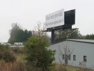 Protest Planned Against 'Real Women' Billboard in North Carolina