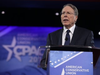 NRA Head Compares Anti-Trump Protester Violence to Terrorism