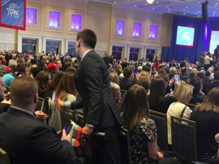 Liberal Activists' Prank Had Some at CPAC Waving Russian 'Trump' Flags