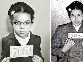 Five-Year-Old Dresses as Black Icons for Black History Month