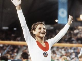 Former Soviet Gymnast Olga Korbut Says Goodbye To Her Medals