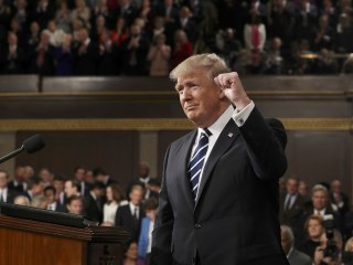 The President's Speech: Scenes From Trump's First Address