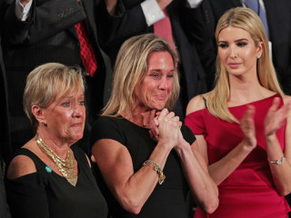 Trump Honors Widow of Fallen Navy SEAL William 'Ryan' Owens
