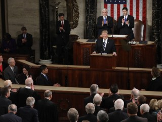 In Trump's Address to Congress, New Tone But the Same Substance