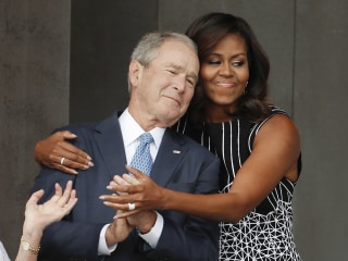 George W. Bush on His Friendship With Michelle Obama