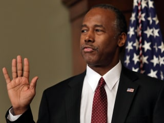 HUD Secretary Ben Carson Stands By 'Poverty Is A State of Mind' Claim