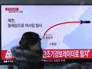 North Korea Fires Banned Ballistic Missiles Into Sea of Japan