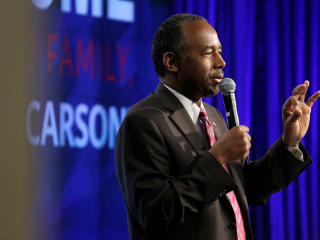 Ben Carson Calls Slaves 'Immigrants' in First HUD Remarks