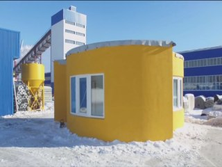Gimme Shelter? A 3-D Printer Made This House In Just 24 Hours