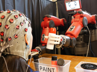 Meet Baxter, the Friendly Robot You Control With Your Mind