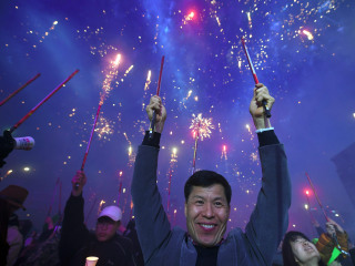 South Koreans Celebrate Park Geun-hye's Removal as Ousted President Stays Silent
