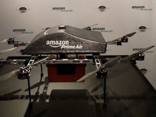 SXSW: Amazon Prime Air Drones Meet the Public — But Stay Grounded
