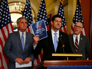 Trump, House Freedom Caucus Negotiating Last-Minute Changes to Health Care Bill