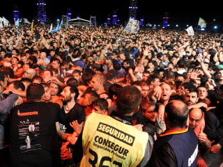 Indio Solari Concert in Argentina Ends With 2 Killed in Stampede
