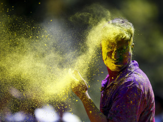 Holi Celebrations Welcome Spring With Brilliant Colors