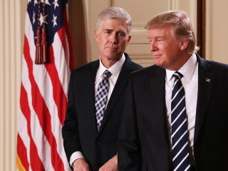 Neil Gorsuch Seeking 'Illegitimate Seat' on Court, Feingold Says