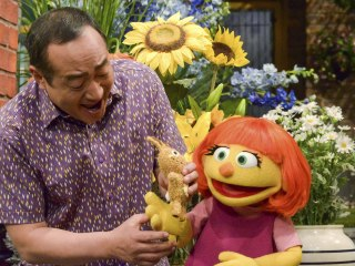 Julia, a Muppet With Autism, to Debut on 'Sesame Street'