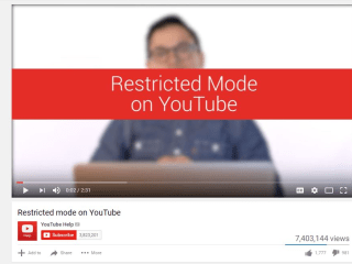 YouTube Blocks LGBTQ, Other Videos for 'Restricted Mode' Users