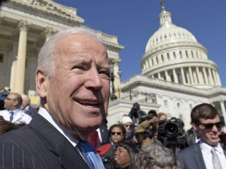 Joe Biden Takes Jabs at Trump Administration's 'Romance' With Putin