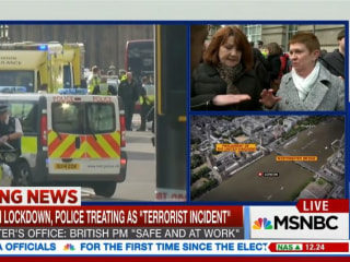 London Attack Witness: 'We Saw a Car Plow Into a Lady'