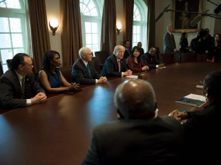 'What Do You Have to Lose?': Trump Meets With Black Caucus