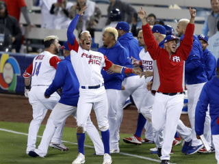It's Puerto Rico Versus U.S. in World Baseball Classic Final Game