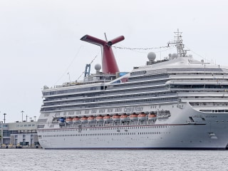 Carnival Cruise Ship Reports Man Overboard, Search Continues