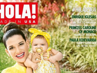 Natalia Jiménez of La Voz Kids, Graces Cover of HOLA! USA With 6-Month Old Daughter