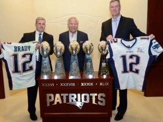 Tom Brady's Stolen Super Bowl Jerseys Returned to Patriots by FBI