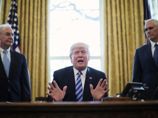 Trump on Health Care Bill's Failure: 'We Were Very Close'