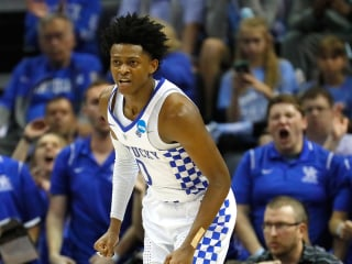 Kentucky Freshman Scores 39, Leads Wildcats Back to Elite Eight