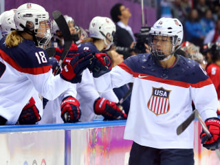 Report: U.S. Men's Hockey Players may Boycott with Women's Team