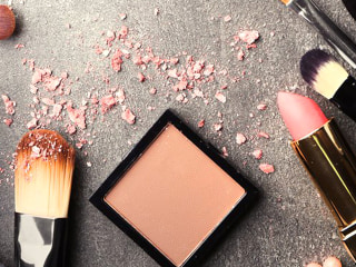 How to treat blush and bronzer stains on your clothes, carpet and furniture