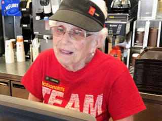 Woman celebrates 44 years at McDonald's: 'It's not a job if you enjoy it'