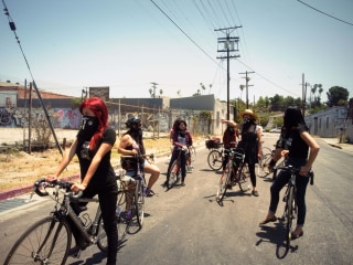 'Ovarian Psycos': Young L.A. Latinas Forge Activism, Empowerment Through Biking
