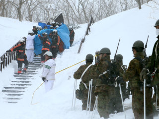 Eight Feared Dead as Avalanche Hits Japan Ski Resort