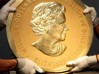 'Big Maple Leaf' Gold Coin Stolen From Berlin's Bode Museum