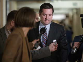 House Intel Chair Nunes Dismisses Calls to Step Down From Russia Probe