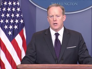 Sean Spicer Faces Press After Outrage Over Response to Reporter