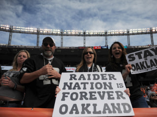 Here's Where the Raiders Might Play if Oakland Kicks Them Out