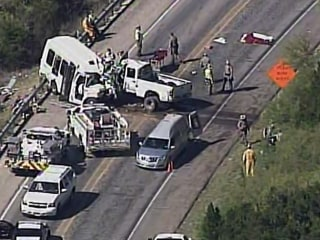 12 Dead After Church Van Full of Seniors and Pickup Truck Crash Head On in Texas