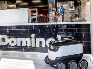 This Adorable Robot Delivers Pizza Right To Your Doorstep