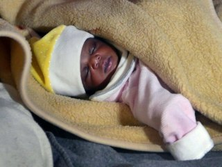 4-Day-Old Baby Among Migrants Rescued From Mediterranean Sea