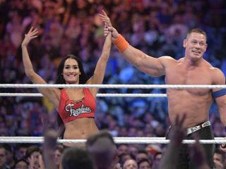 Watch John Cena Pop the Question to Nikki Bella at WrestleMania 33