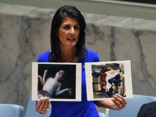 Nikki Haley After Syrian Gas Attack: How Many Children 'Have to Die Before Russia Cares?'